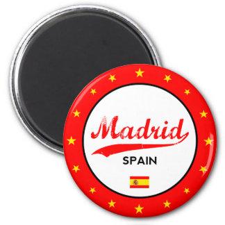 Imã Madrid, Spain, circle, white