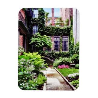 Ímã MÃES de Boston - jardim escondido