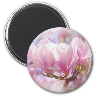 Imã Magnólia roxa cor-de-rosa de florescência - flor