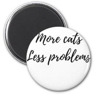 Imã Mais gatos, menos problemas