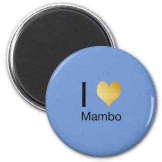 Imã Mambo Playfully elegante do coração de I