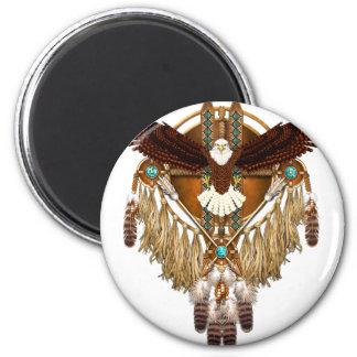 Imã Mandala da águia americana - revisada