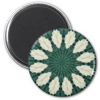 Imã Mandala. da folha verde e de prata de Sacramento
