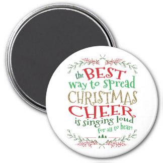 Imã Maneira do ímã do elogio do Natal a melhor de