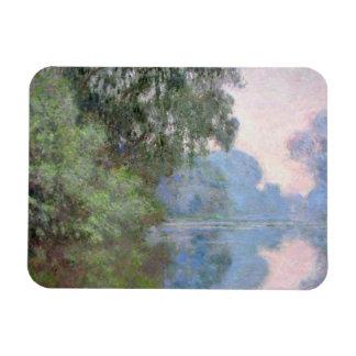 Ímã Manhã no Seine perto de Giverny por Claude Monet