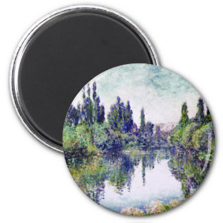 Imã Manhã no Seine, perto de Vetheuil - Claude Monet