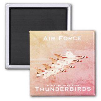 Imã Manobra apertada da formação dos Thunderbirds da