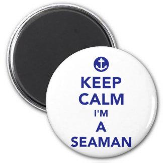 Imã Mantenha a calma que eu sou um marinheiro