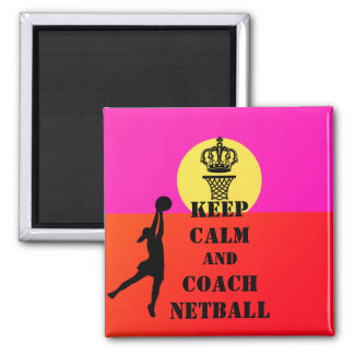 Imã Mantenha citações calmas e do treinador do Netball