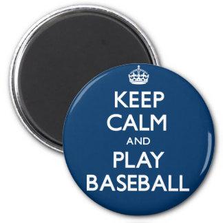 Imã Mantenha o basebol da calma e do jogo (continue)