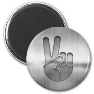 Imã Mão da paz do cromo
