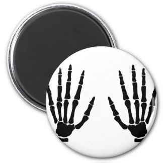 Imã Mãos do osso isoladas