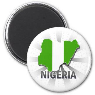 Imã Mapa 2,0 da bandeira de Nigéria