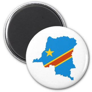 Imã mapa da bandeira de país de zaire Congo