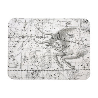Ímã Mapa da placa XIV das constelações