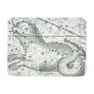Ímã Mapa da placa XXIII das constelações