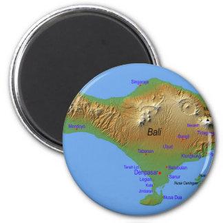 Imã Mapa de Bali Holliday