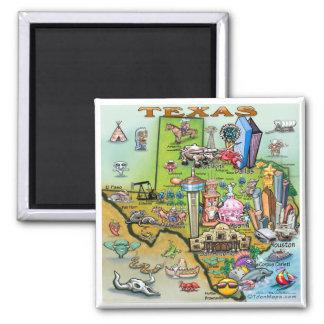 Imã Mapa do divertimento de Texas