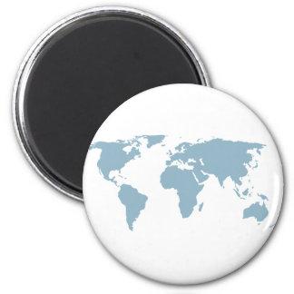 Imã Mapa do mundo