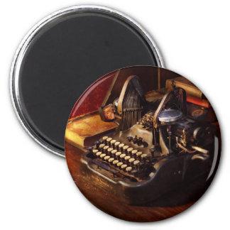 Imã Máquina de dactilografia de Steampunk - de Oliver