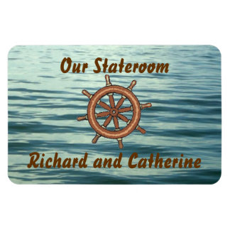 Ímã Marcador da porta de Stateroom da roda do mar