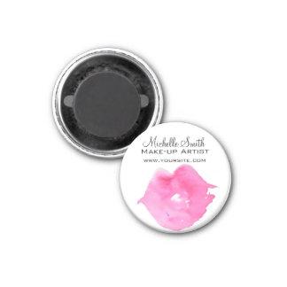 Imã Marcagem com ferro quente cor-de-rosa da