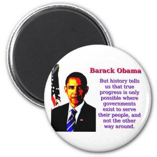 Imã Mas a história diz-nos aquela - Barack Obama