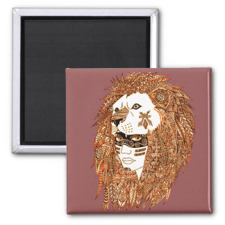 Imã Máscara do leão