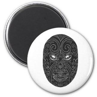 Imã Máscara maori Scratchboard
