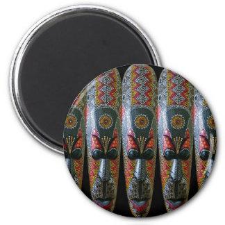 Imã Máscara tribal africana pintado mão