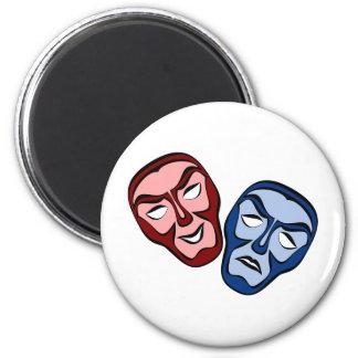 Imã Máscaraes protectoras clássicas do teatro