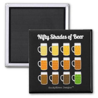 Imã Máscaras astuciosas da cerveja (matiz/cores das