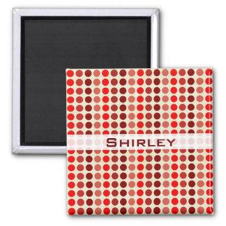 Imã Máscaras de bolinhas vermelhas por Shirley Taylor