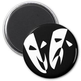 Imã Máscaras do palco
