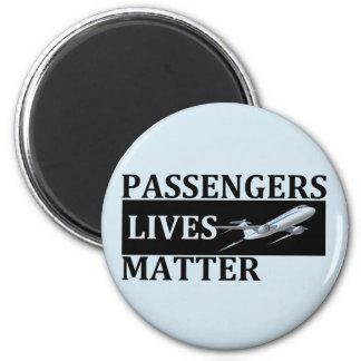 Imã Matéria das vidas dos passageiros
