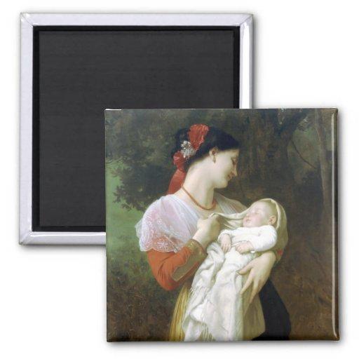 Ímã maternal do amor imã
