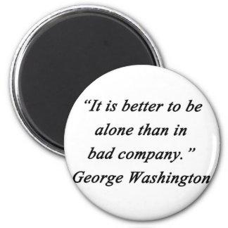 Imã Mau Empresa - George Washington