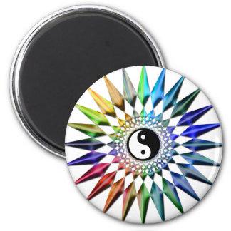 Imã Meditação colorida Tao da ioga calma do zen de Yin