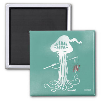 Imã medusa assustadores do ímã verde dos cortes