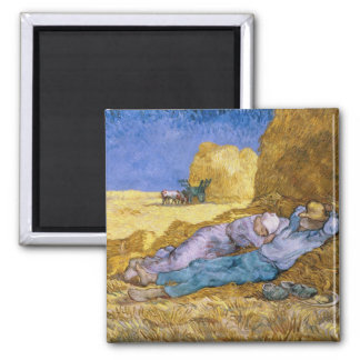 Imã Meio-dia de Vincent van Gogh |, o Siesta, após o