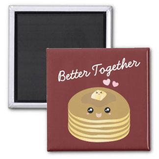 Imã Melhore junto a manteiga bonito Foodie engraçado