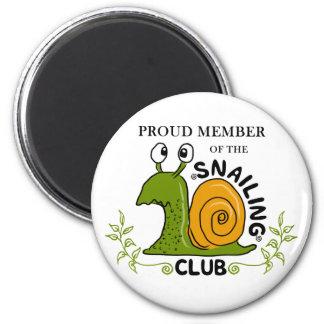 Imã Membro orgulhoso do clube de Snailing