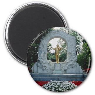 Imã Memorial vermelho de Johann Strauss, Stadtpark,