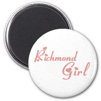 Imã Menina do monte de Richmond