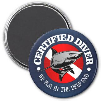 Imã Mergulhador certificado (tubarão)
