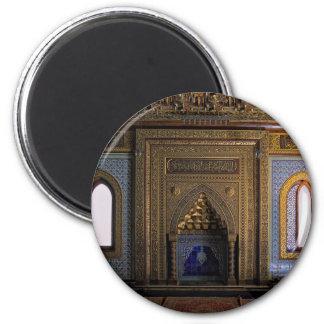 Imã Mesquita o Cairo do palácio de Manial