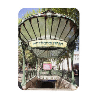 Ímã Metro das abadessa, Montmartre, Paris