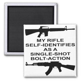 Imã Meu auto do rifle identifica como um ato do