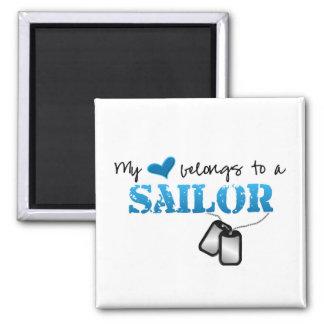 Imã Meu coração pertence a um marinheiro