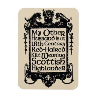 Ímã Meu outro marido - escocês